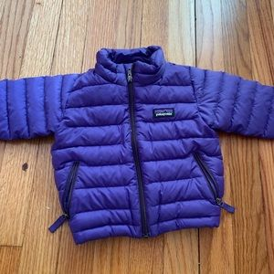 Infant Patagonia Down sweater 6 months